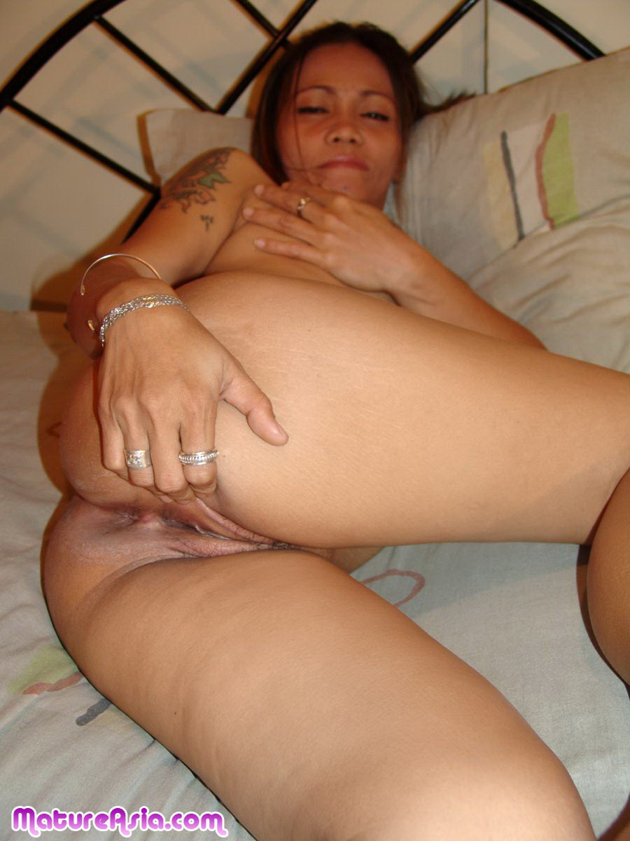 Old asian anal