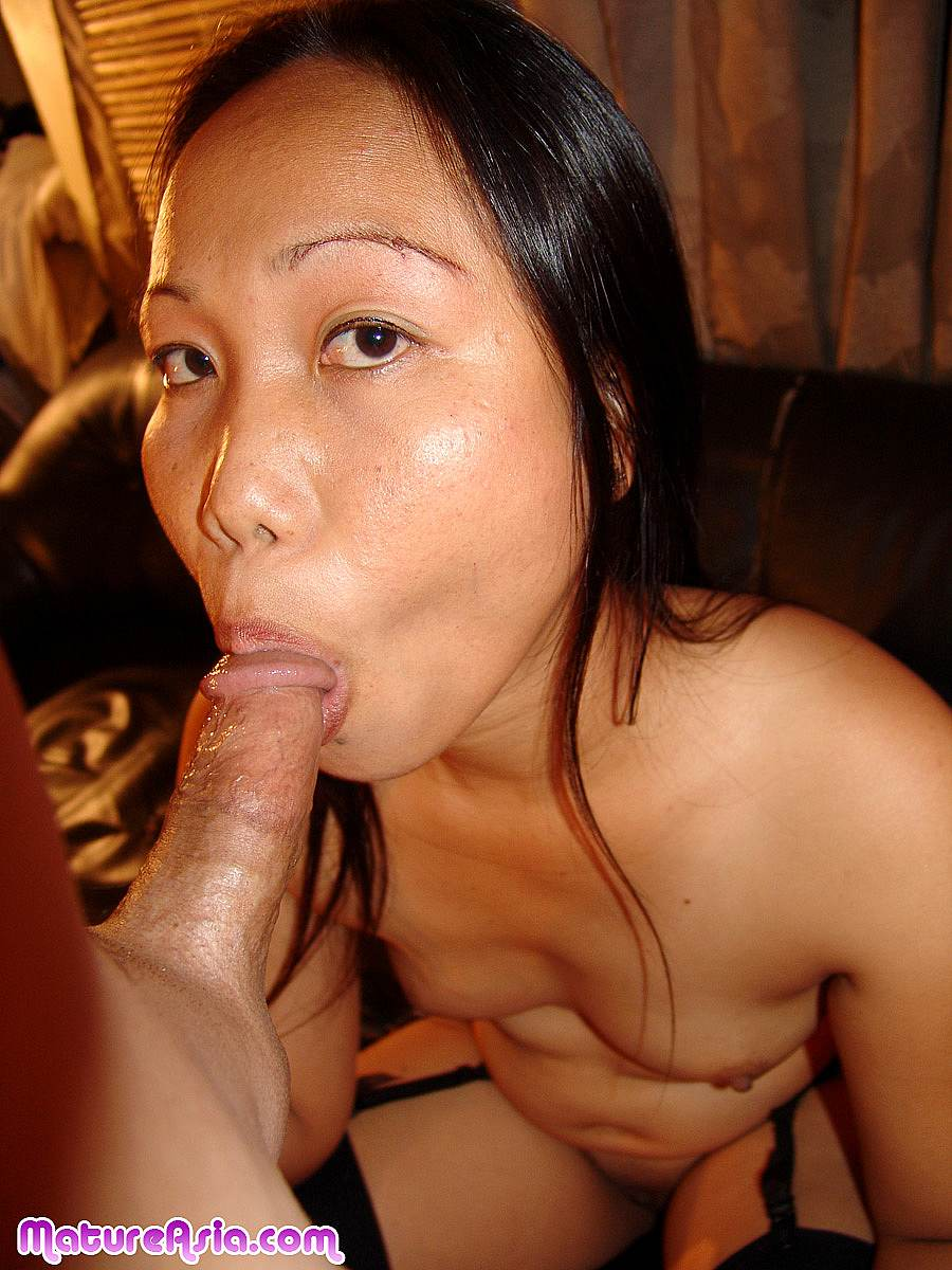asian milf blowjob