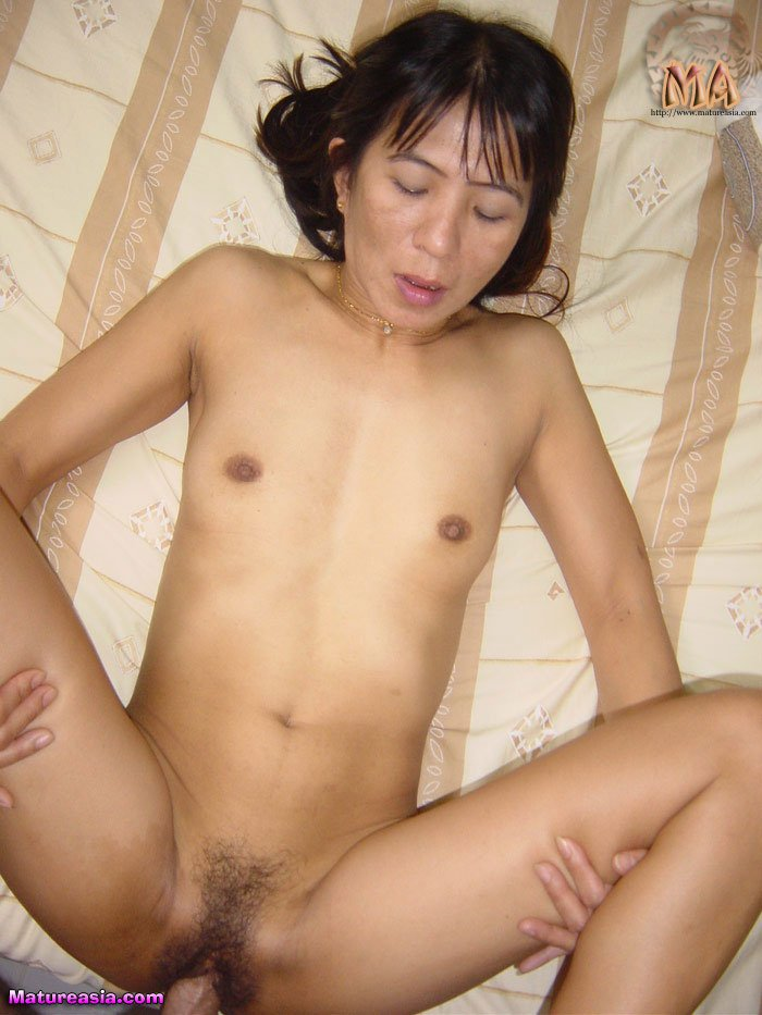 Amateur skinny asian milf mature