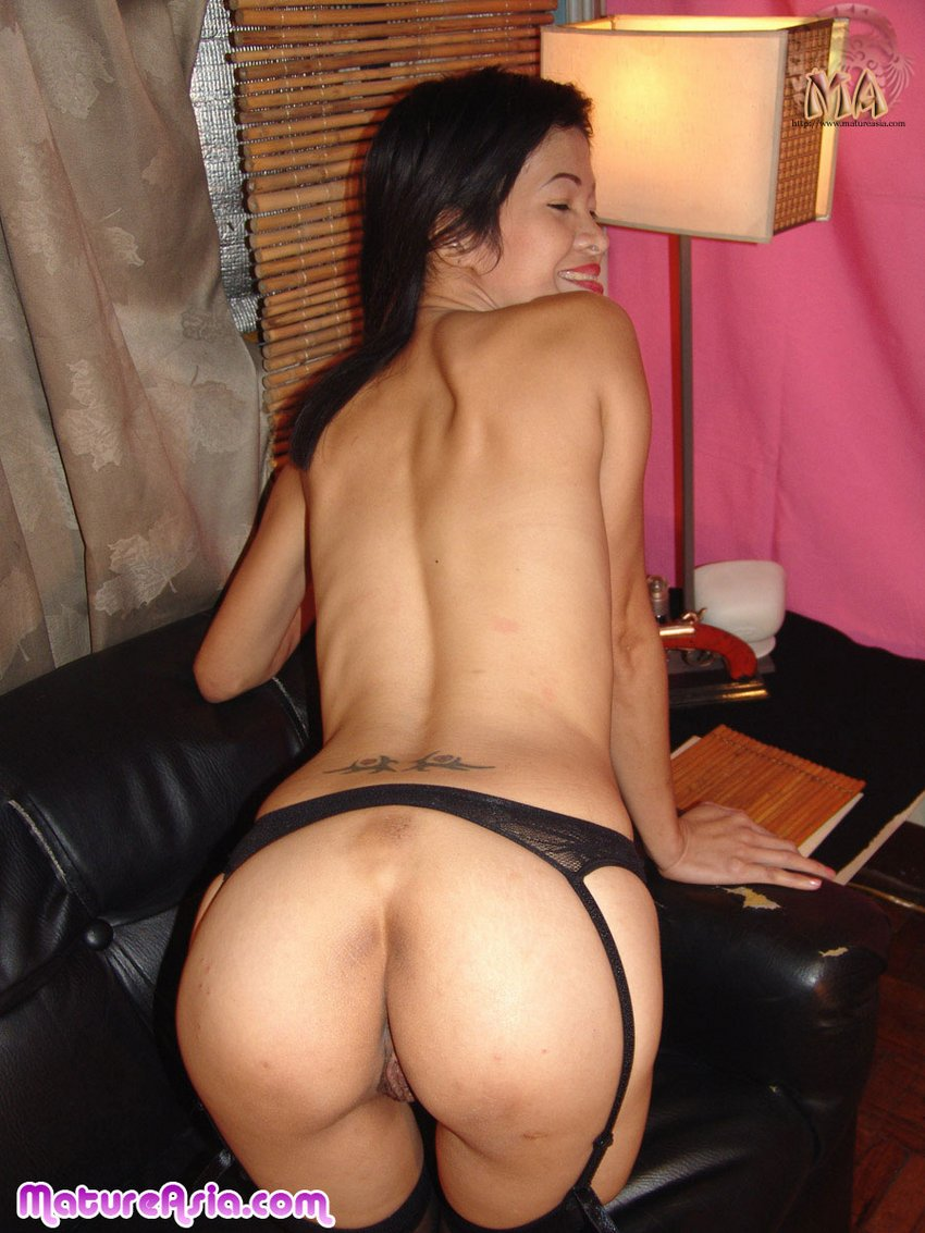 mature asian ass