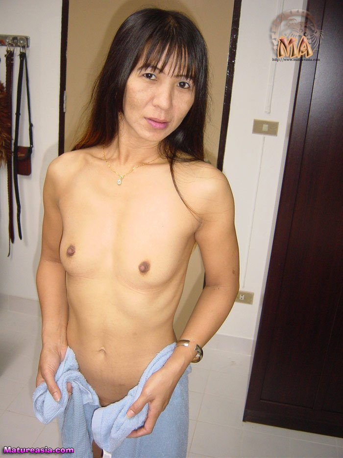 breasts Beautiful mature skinny tiny