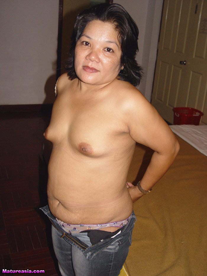 Fat old asian whore