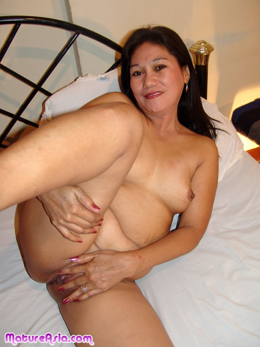 Naked sexy asian female excited too