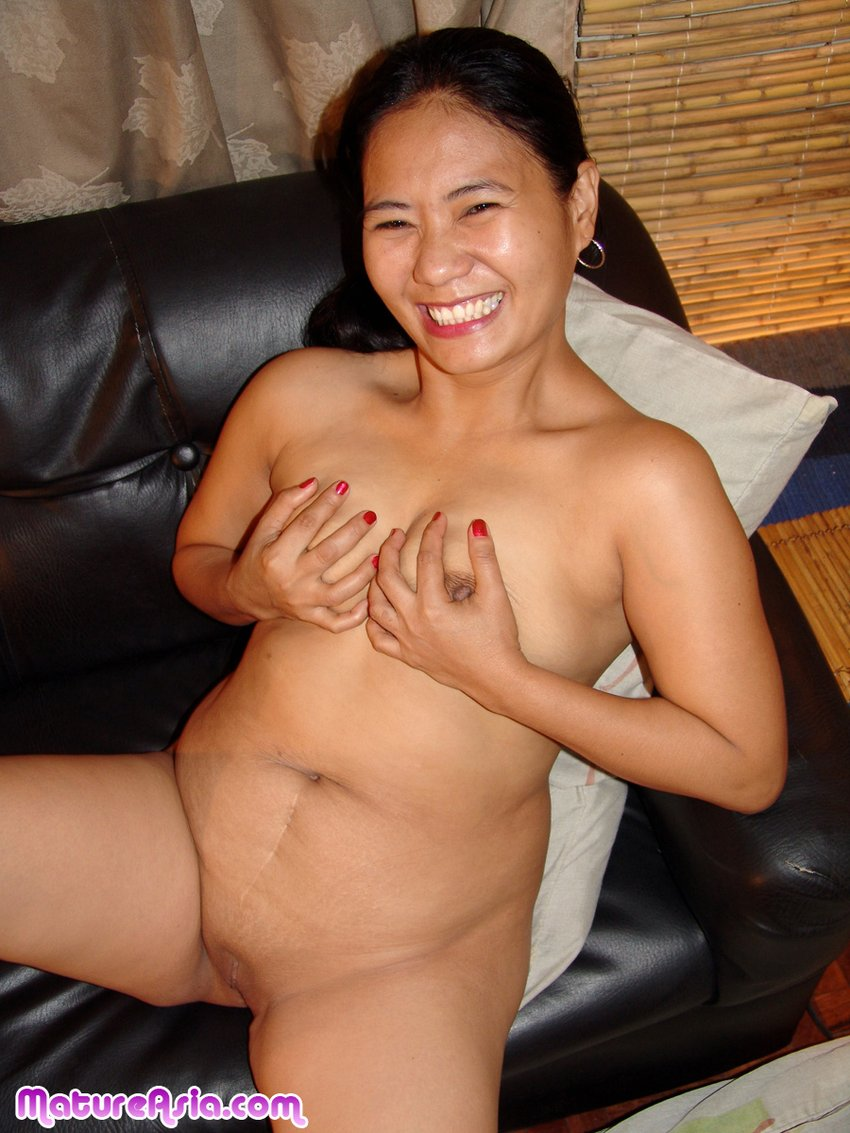 chunky mature amateur asian with saggy tits