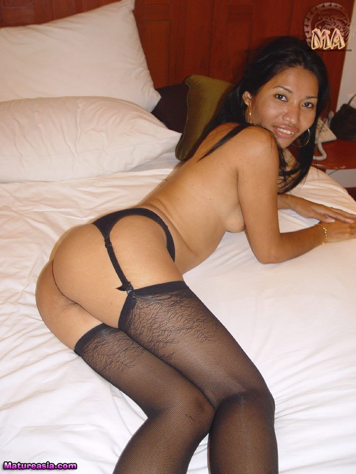 Asian milfs in stockings