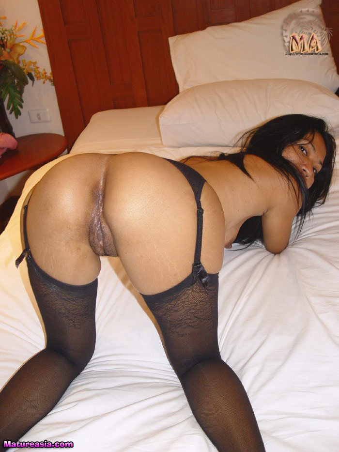 milf Amateur stockings asian
