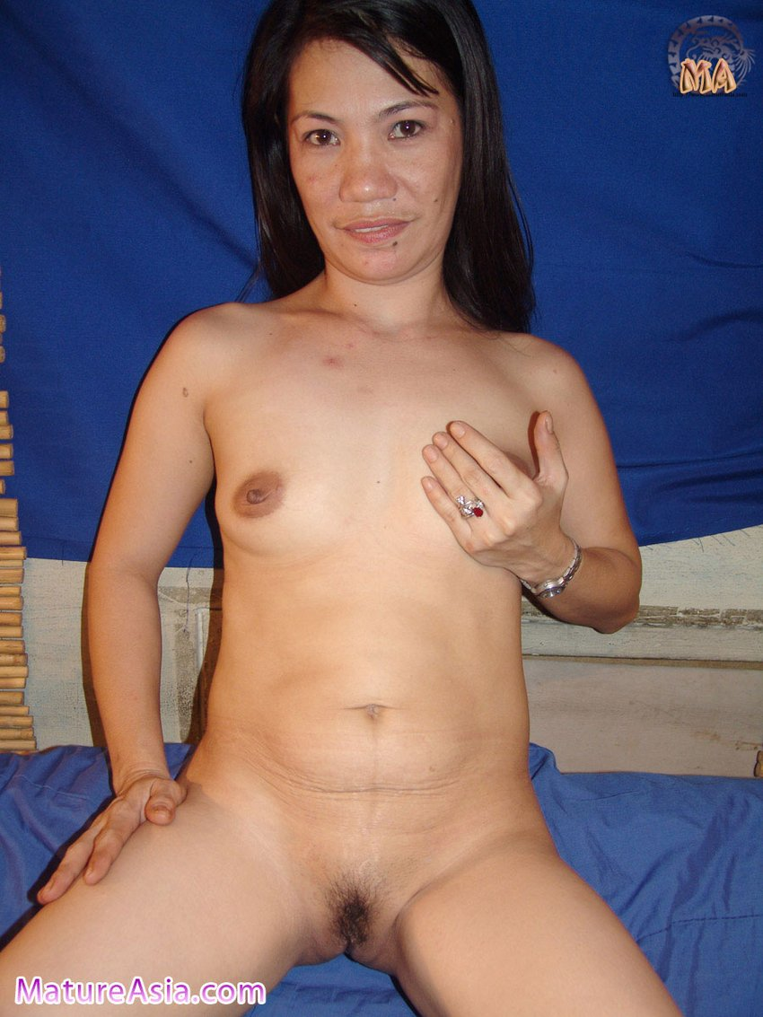 Cum Woman posing for