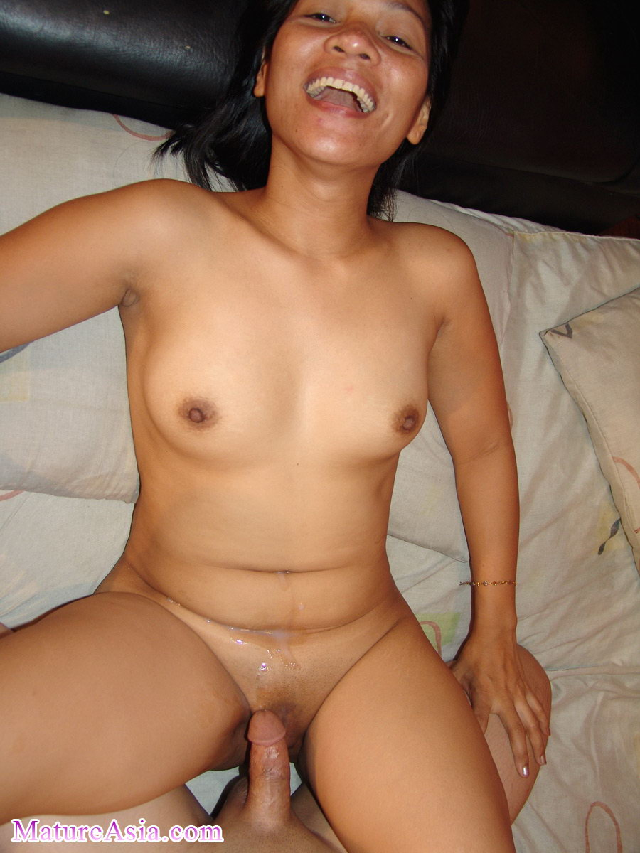 Spurt Japanese mature ficking the way