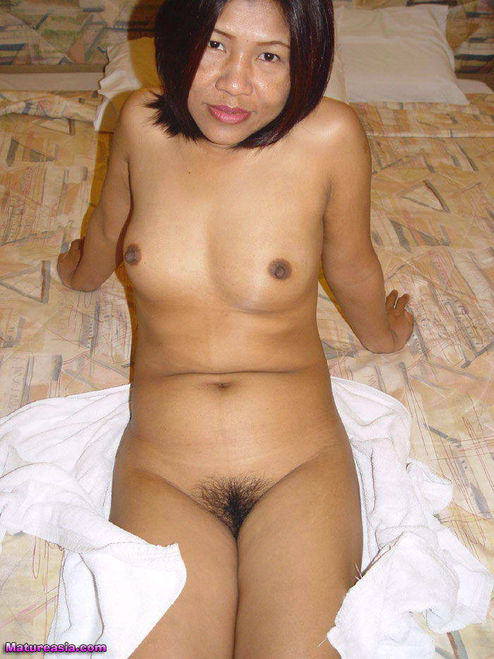 Asian slut with great tits gets fucked by 3