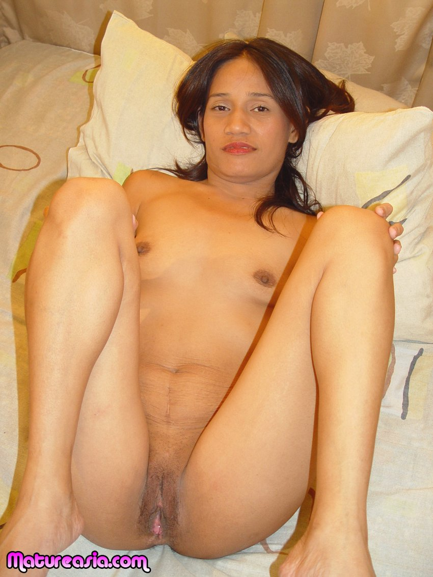 Asian older pussy