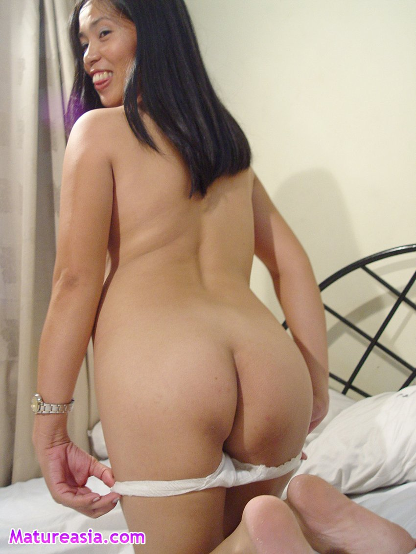 Solo asian milf uses just her hands pov