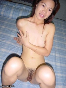 Cute fair skin Asian